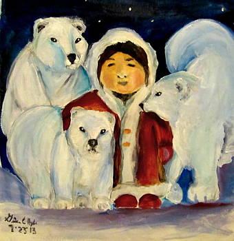 Polar Bear Love by Gina Hyde