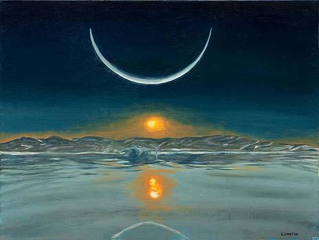 Polar Sunset by Phillip Compton