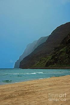 Polihale Beach, Kauai by Kathy DesJardins