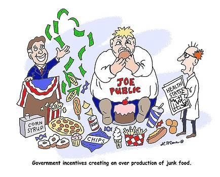Linda Mears - Political Cartoon One