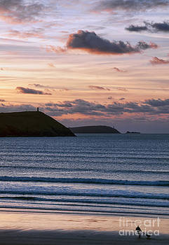 Polzeath Sunset by Bel Menpes