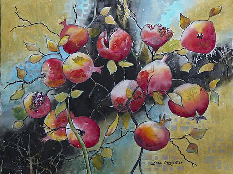 Dee Carpenter - Pomegranate Explosion