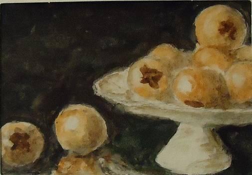 Pomegranates by Katie Spicuzza