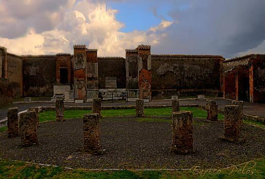 Enrico Pelos - Pompei rovine monoliti