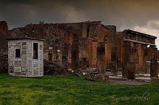 Enrico Pelos - Pompei rovine teatro con box
