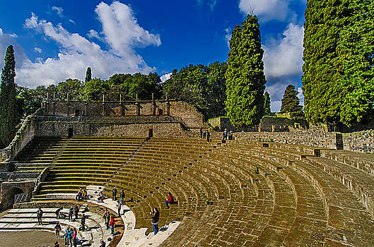 Enrico Pelos - Pompei teatro principale - Main theatre