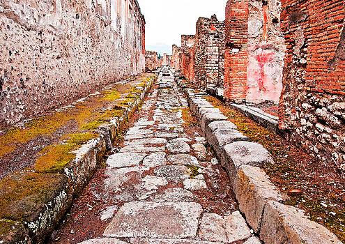 Dennis Cox - Pompeii Stone Street