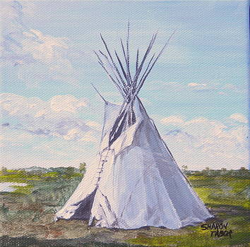 Pompey's Tepee by Sharon Tabor