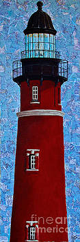 Ponce Inlet Lighthouse by Melissa Sherbon