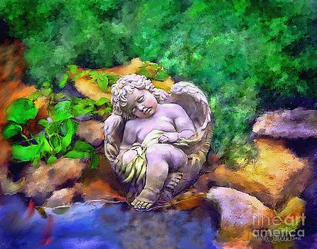 Pond Angel by Dawn Serkin