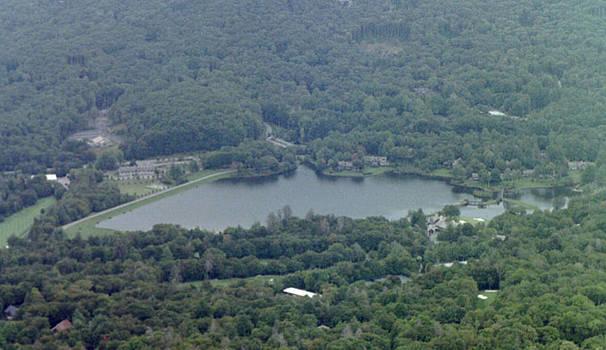 Pond below by Lee Hartsell
