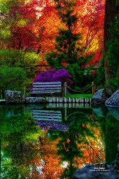 Pond Bench by Dan Quam