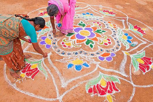 Dennis Cox - Pongal Festival art