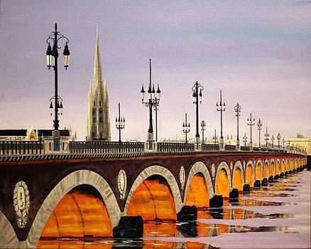Pont de Pierre by Robert Crooker