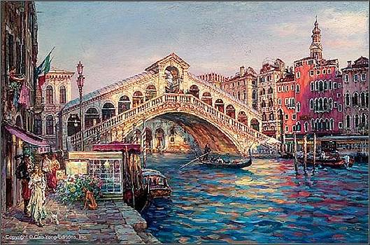 Ponte Di Rialto by Cao Yong