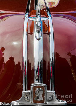 Pontiac Chieftain Hood Ornament  by DJ Laughlin