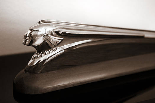 Marilyn Hunt - Pontiac Indian Chief Hood Ornament