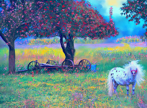 Pony in Pasture by Kari Nanstad