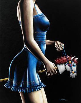 Ponygirl by Glenn Pollard