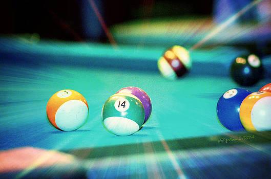 Pool14 Ball by Sheila Noren