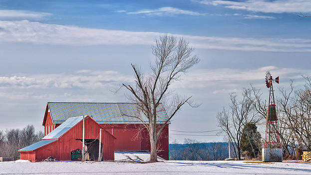 Poolesville Farm panorama by Daniel Potter