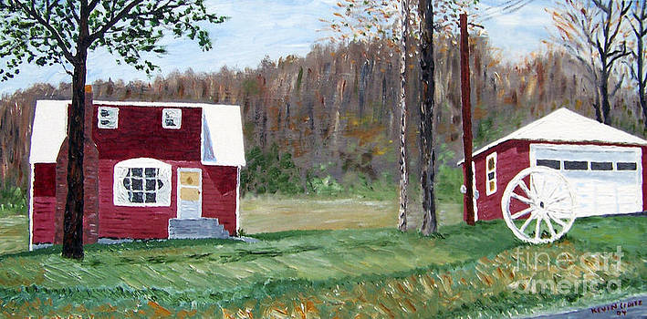 Pop and Nana's House Catskills New York by Kevin Croitz