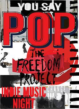Pop music poster  by Tolga Ozcelik