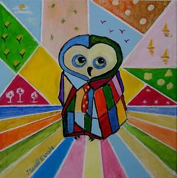 Pop Owl by Juan Sandin