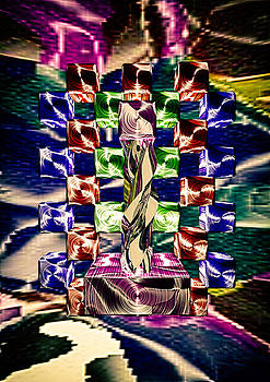 Popart Abstract by Udo W Klingbeil