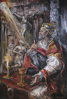 Pope Benedict XIII - Dialogue with God by Stefano Popovski