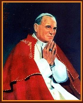 Pope John Paul II by Prasanna  Kumar