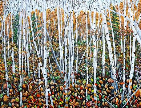 Poplar Art by Marilyn  McNish