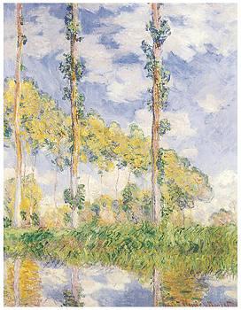 Claude Monet - Poplars Summer