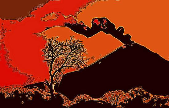 Popocatepetl by William Horden