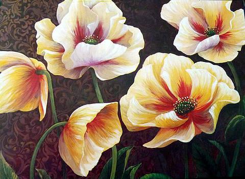 Poppies by Anke Wheeler