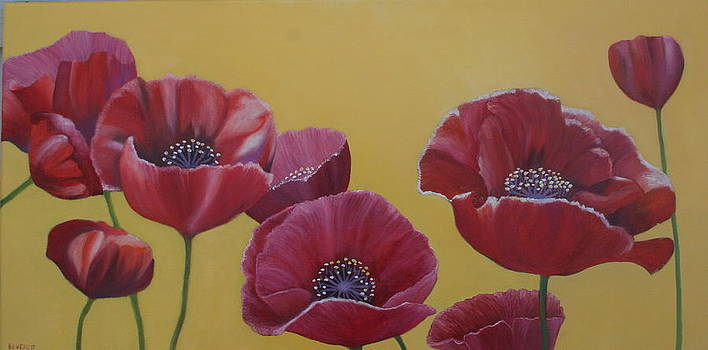 Poppies by Brenda Everett