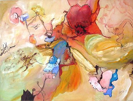 Poppies by Doris Cohen