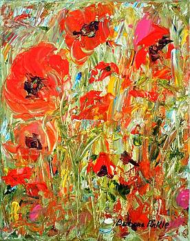 Poppies in the Sun by Barbara Pirkle