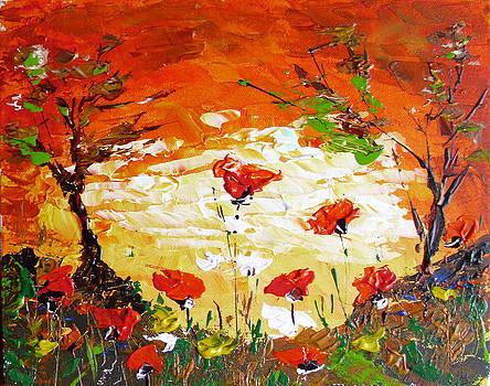 Poppies by Ivaylo Georgiev
