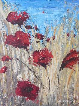 Poppies by Jenny Forsman