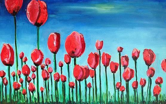 Tulips by Kendall Wishnick Adams