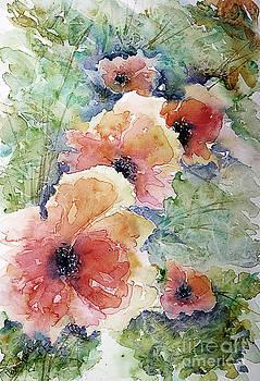 Poppies by Marisa Gabetta