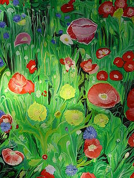 Poppies by Mireille  Damicone