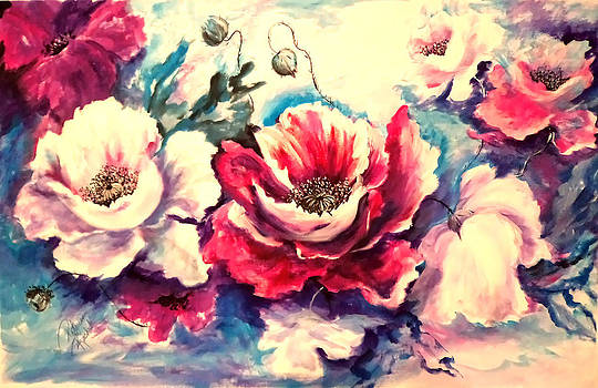 Poppies by Patricia Rachidi