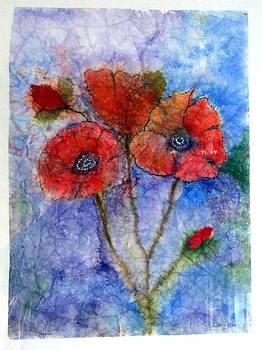 Poppies revised picture by Loretta Moore