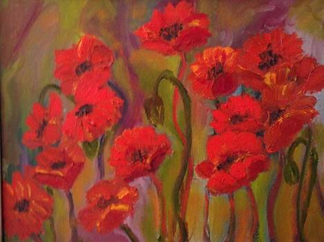 Poppies by Susan Hanning