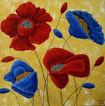 Poppies by Susan McLean Gray