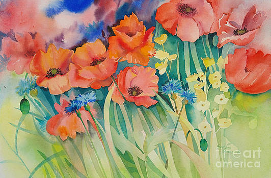 Poppies by SvetLana Grecova