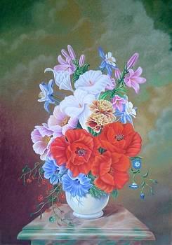 Poppies by Zdzislaw Dudek
