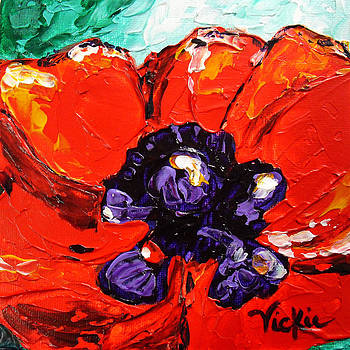Poppy 4 by Vickie Warner